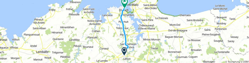 Brittany Tour day 8 - Dinan to Dinard