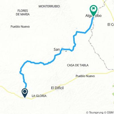 21 etapa Nueva Granada - Algarrobo