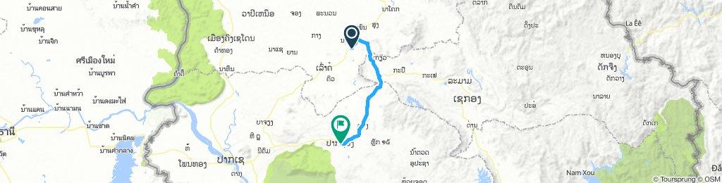 Tad Lo to Paksong63 km