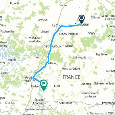 15 Issoudun - Gargilesse-Dampierre jakobsweg