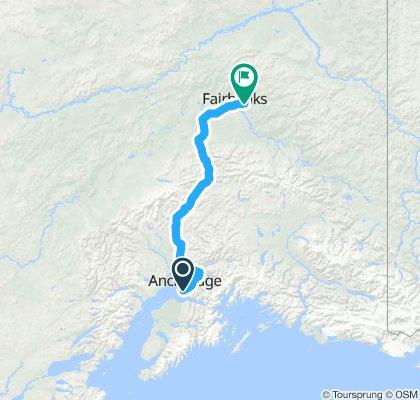 Anchorage - Fairbanks