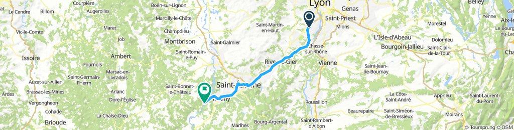 Route nach Spanien 9.Tag