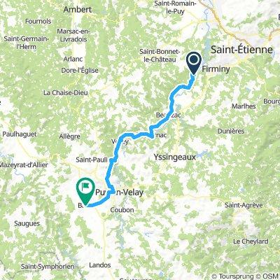 Route nach Spanien 10 Tag