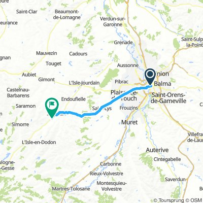 Route nach Spanien 15.Tag