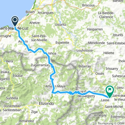 St Jean De Luz To St Jean Pied De Port Bikemap Your Bike