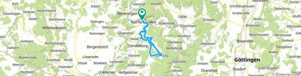 Von Bad Karlshafen zur Sababurg