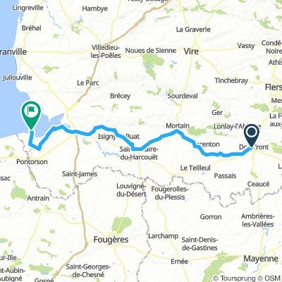 Day 5 - Domfront - Le Mont-Saint Michel