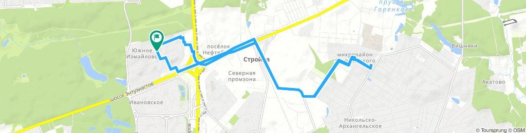 Вечерняя доставочка в Балашиху мкрн Дзержинского 31 октября 2018