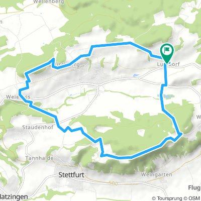 31.10.2018 Rund um Thundorf (Start Lustdorf)