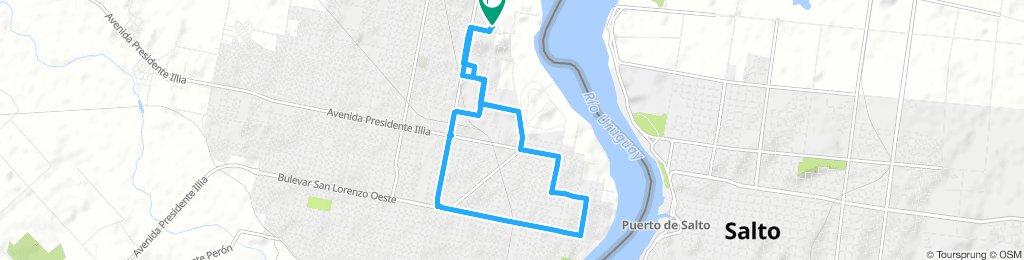 Extensive Miércoles Route In Concordia