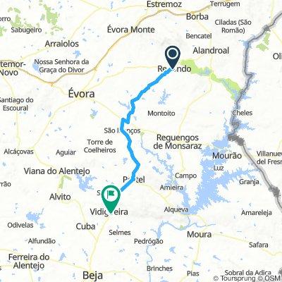 Redondo to Vidiguerra