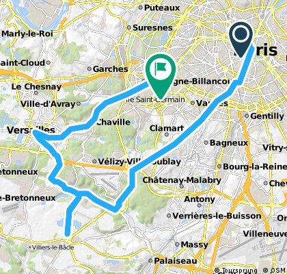 Ride Du Jeudi > Etang de Saclay