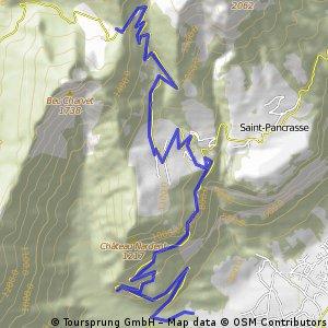 8.Bernin-Col du Coq 11 km