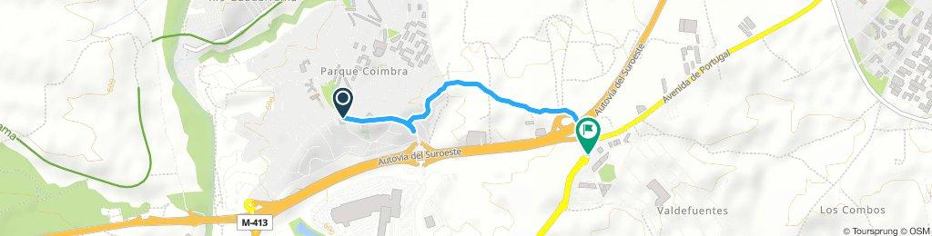 Quick Jueves Track In Arroyomolinos