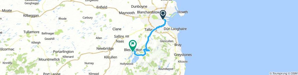 Dublin - Blessington E-Bike Route
