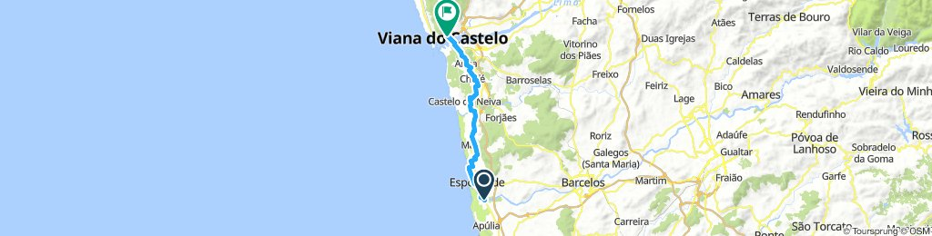 From Fao to Viana do Castelo