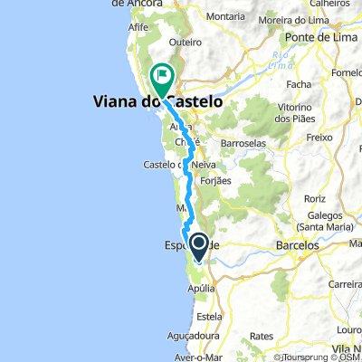 From Fao to Viana do Castelo