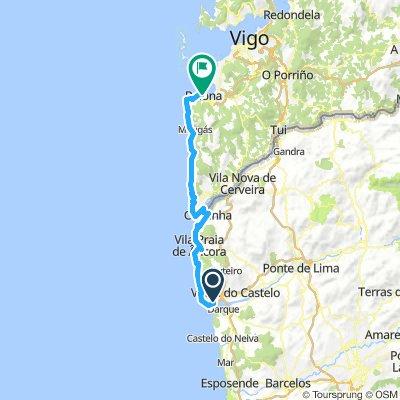 From Viana do Castelo to Baiona