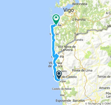 From Viana do Castelo to Baiona
