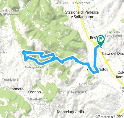 mezza Costa monte Tezio Umbria