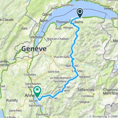 01. Etappe Alpen 2019