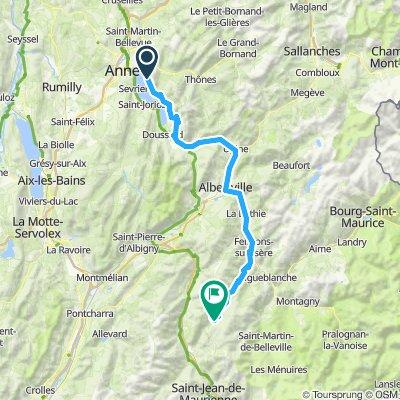 02. Etappe Alpen 2019
