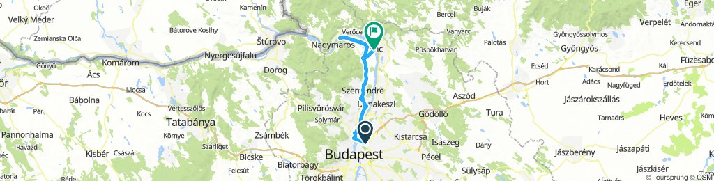 Budapest-Szentendre-Kisoroszi