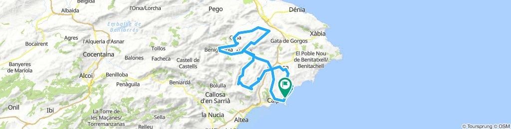 Calpe - Ruta 2: de la Sierra de Bernia