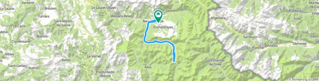 Barcelonnette/Alpes-de-Haute-Provence '91: Tour  2 - Cayolle