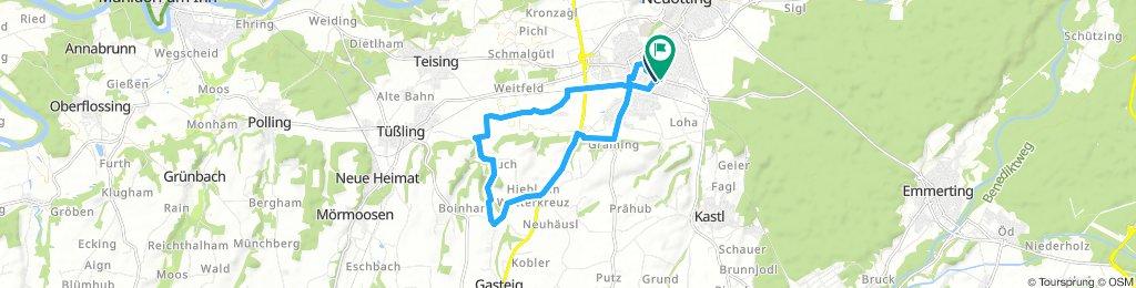 Altöttinger-Radltag Tour (Klein)