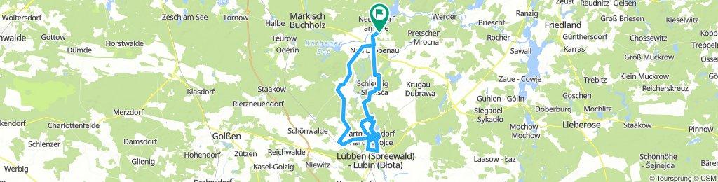 Rundtour Schlepzig - Lübben