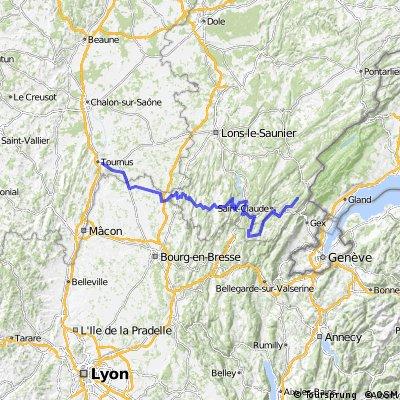 Etappe 07 Tour de France 2010 von Tournus nach Station des Rousses
