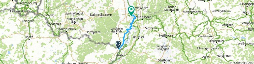 Lauterburg to Niederfeld