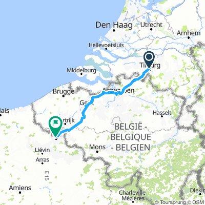 Tilburg - Lille