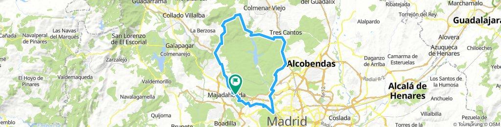 MTB-Vuelta a la valla del Pardo