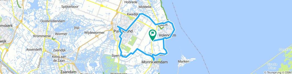 Katwoude - Ründchen Volendam - Purmerend - Monnickendam ab Van der Valk Hotel Volendam 2018