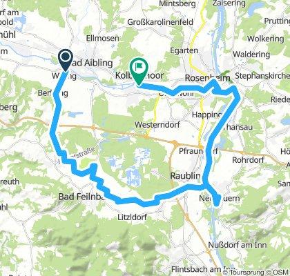 Aibling - Neubeuern - Rosenheim