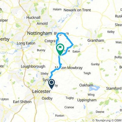 Flat, North - BIngham route