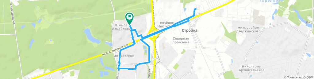 Вечерние вело-довозки заказов 6 ноября 2018