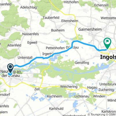 NORTH DANUBE TOUR STAGE 1 Neuberg an der Donau - Ingolstadt ITT