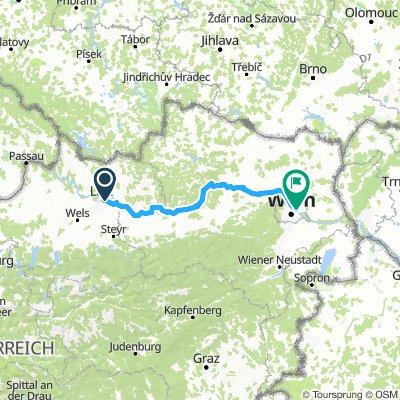 NORTH DANUBE TOUR STAGE 4 Linz- Wien