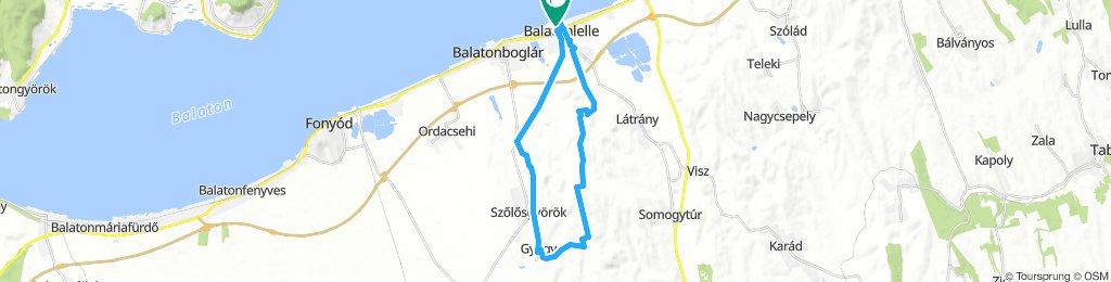 Balatonlelle  - Kishegyi parkerdő (nagykör)