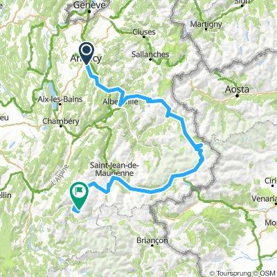 The Lead Agency Alpine Raid - Annecy to Alpe d'Huez