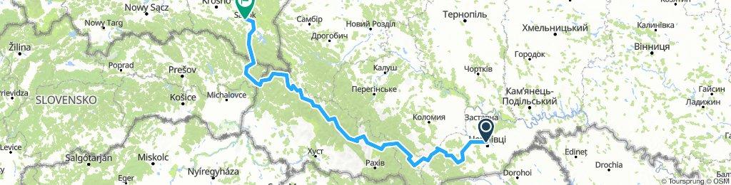 Czerniowiec - Ubla - Sanok