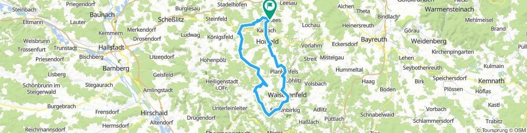 Wonsees-Aufsesstal-Breitenlesau-Freienfels