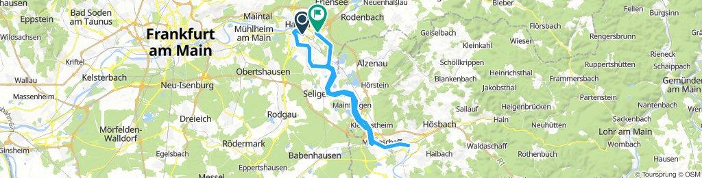 Hanau - Aschaffenburg