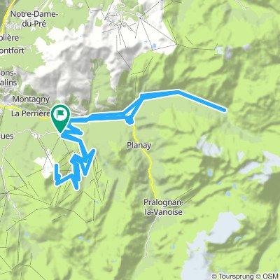 le Praz-Bozel-Champagny-Col du Loze
