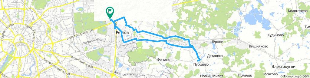 Велодоставка в Балашиху мкрн Саввино 9 ноября 2018