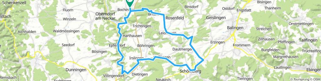 Neckartal und Stausee Schömberg