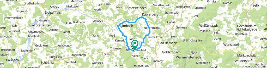 Neudrossenfeld-Kulmbach-Neumarkt-Trebgast